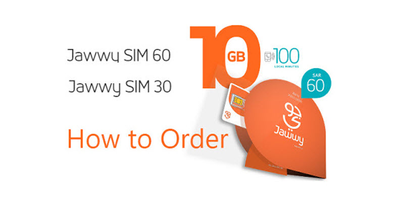 Jawwy Sim Offer and Jawwy Sim Price How to Order