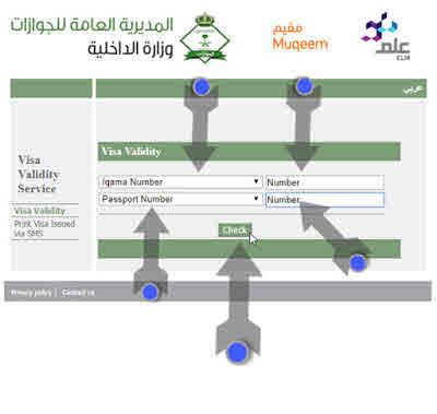Exit Reentry Check via E serve online