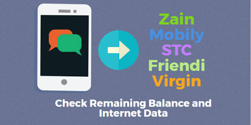 How to Check Balance in Zain, STC, Mobily, Friendi, and Virgin