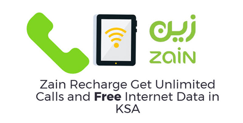Get Unlimited Calls And Free Internet Data On Zain Recharge Expatsa