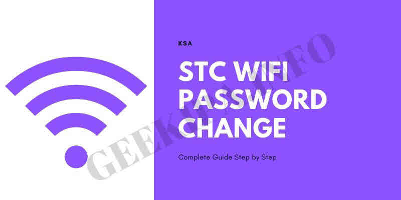 STC Wifi Password Change Complete Guide