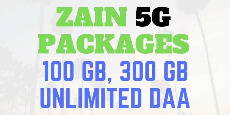 Zain 5G Packages